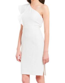 https://www.dillards.com/p/karl-lagerfeld-paris-one-shoulder-ruffle-sheath-dress/507510844?di=05154668_zi_ivory&categoryId=711639&facetCache=pageSize%3D96%26beginIndex%3D0%26orderBy%3D3